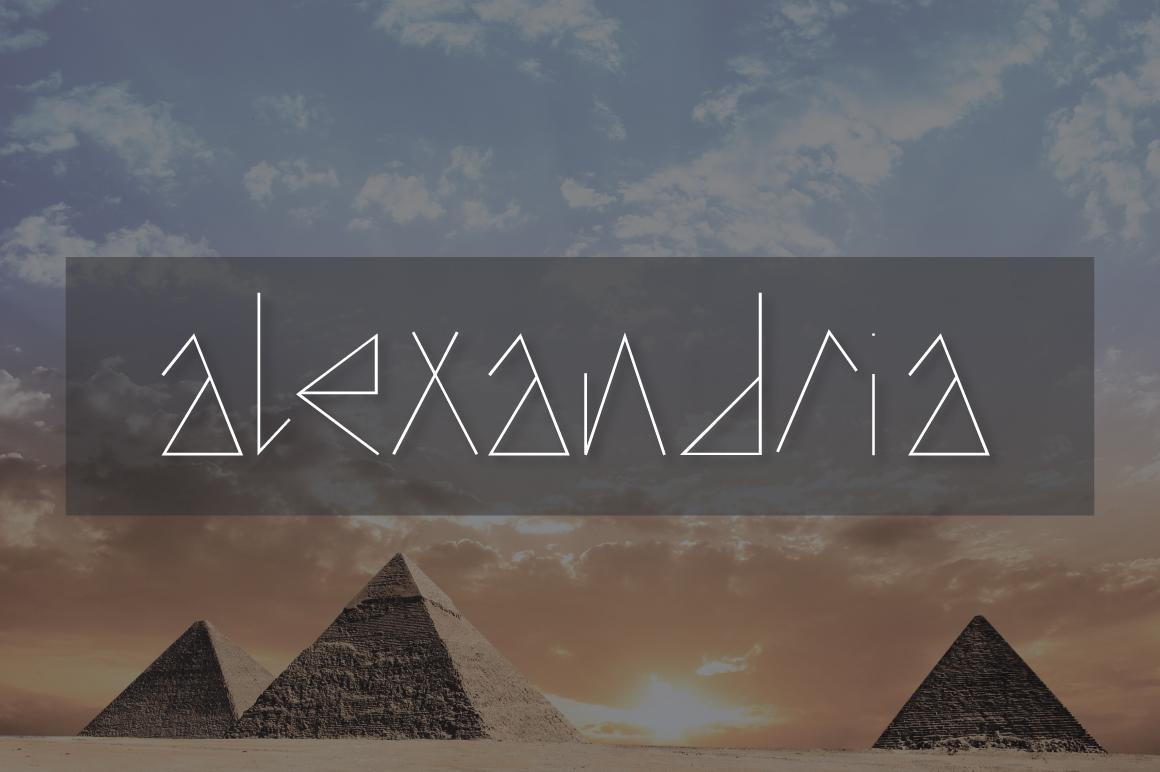 Alexandria Typeface example image 1