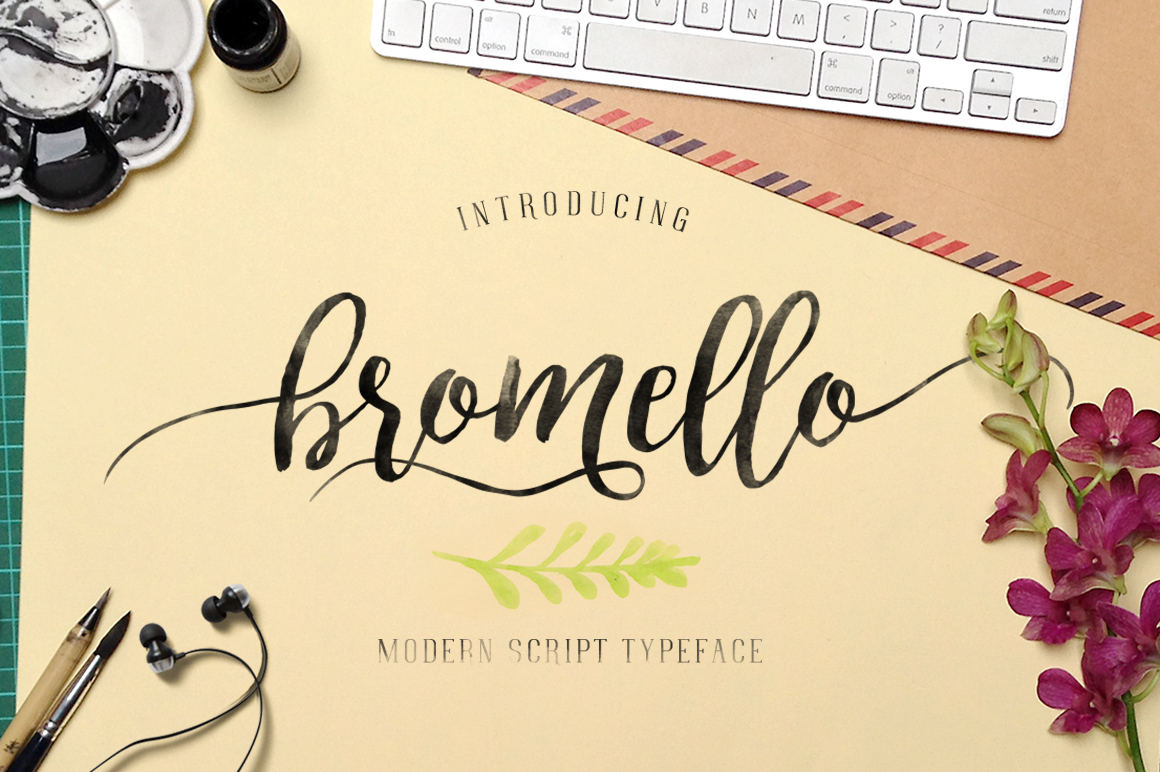 bromello typeface example image 2