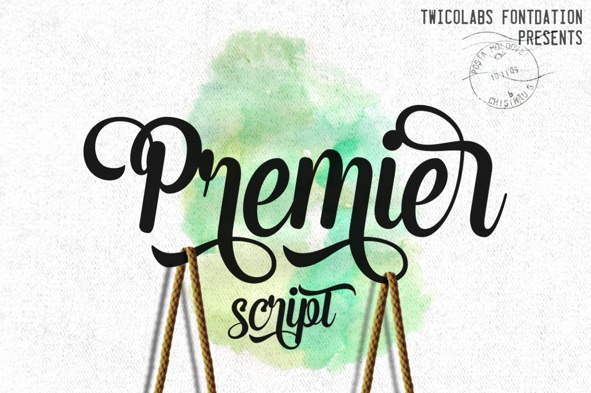 Premier Script example image 1