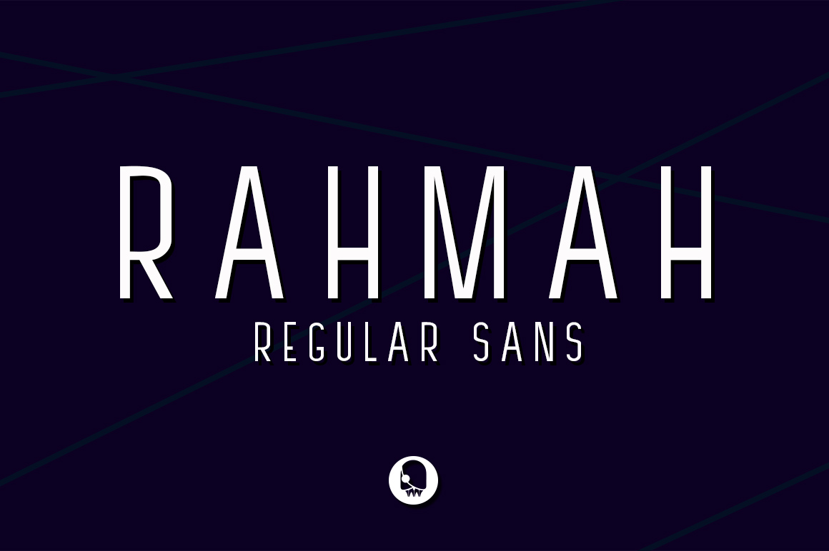 RAHMAH REGULAR SANS example image 1