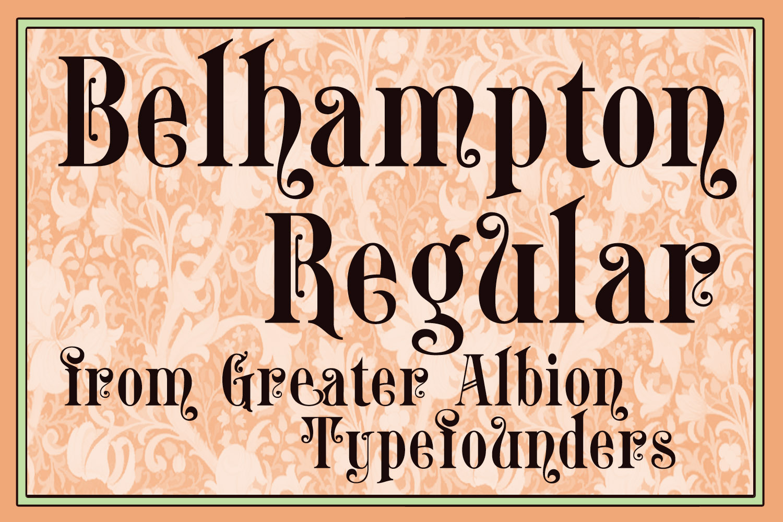 Belhampton Regular example image 1