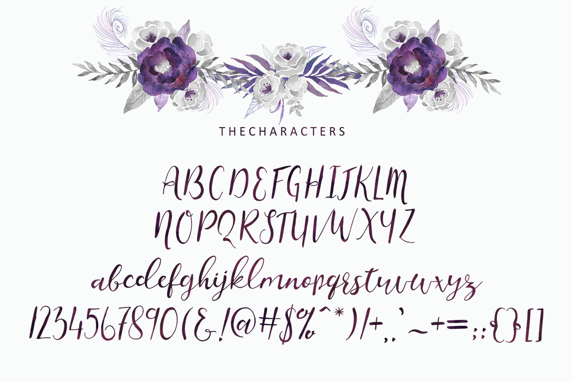 Charissa Script example image 7