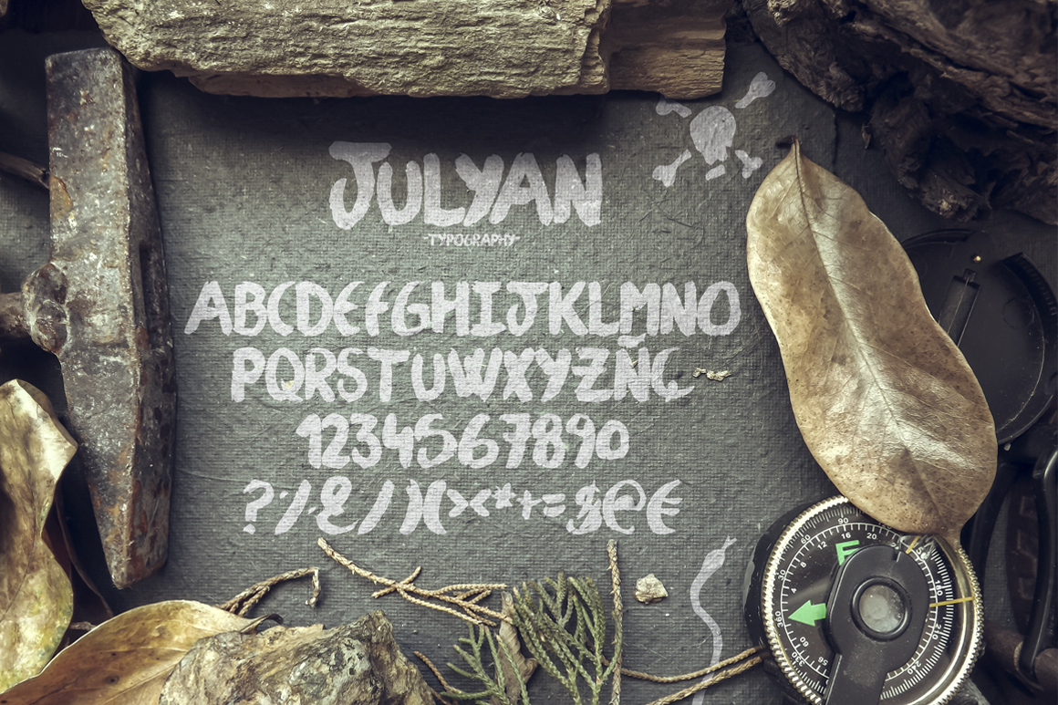 Julyan Typeface example image 2