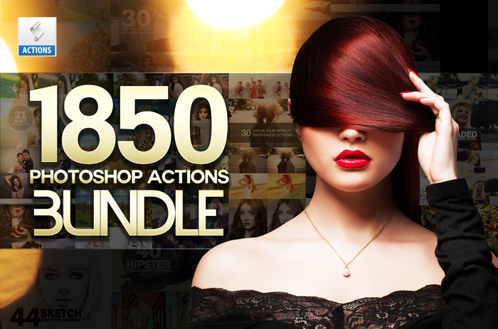 1850 Photoshop Actions example image 54