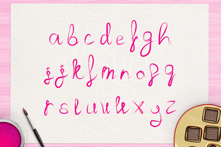 Love Font example image 3