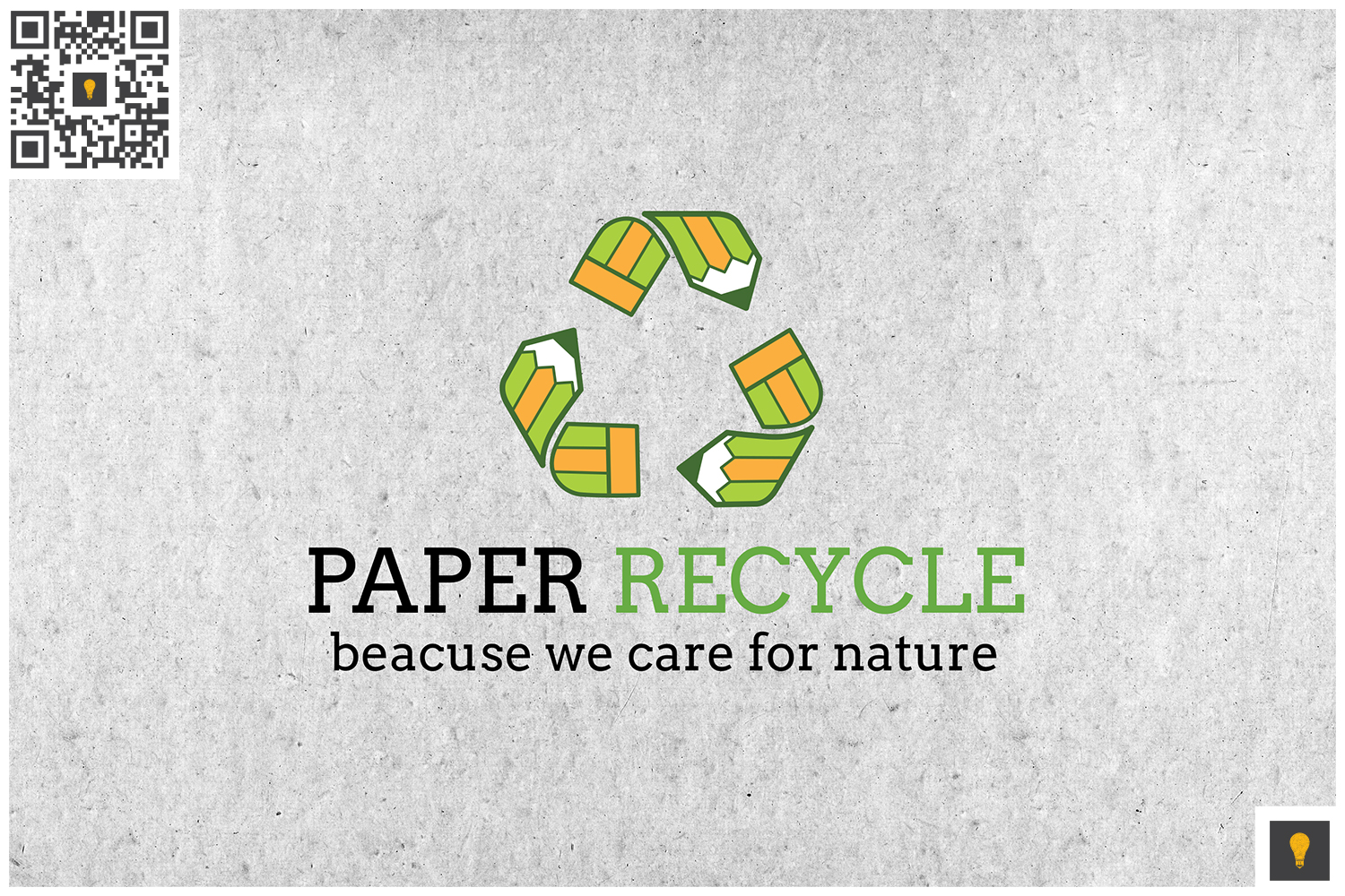 Paper Recycle Logo Color