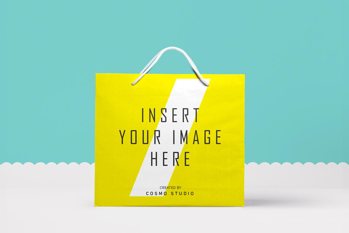 Paper Bags Mockups Vol.2 example image 3