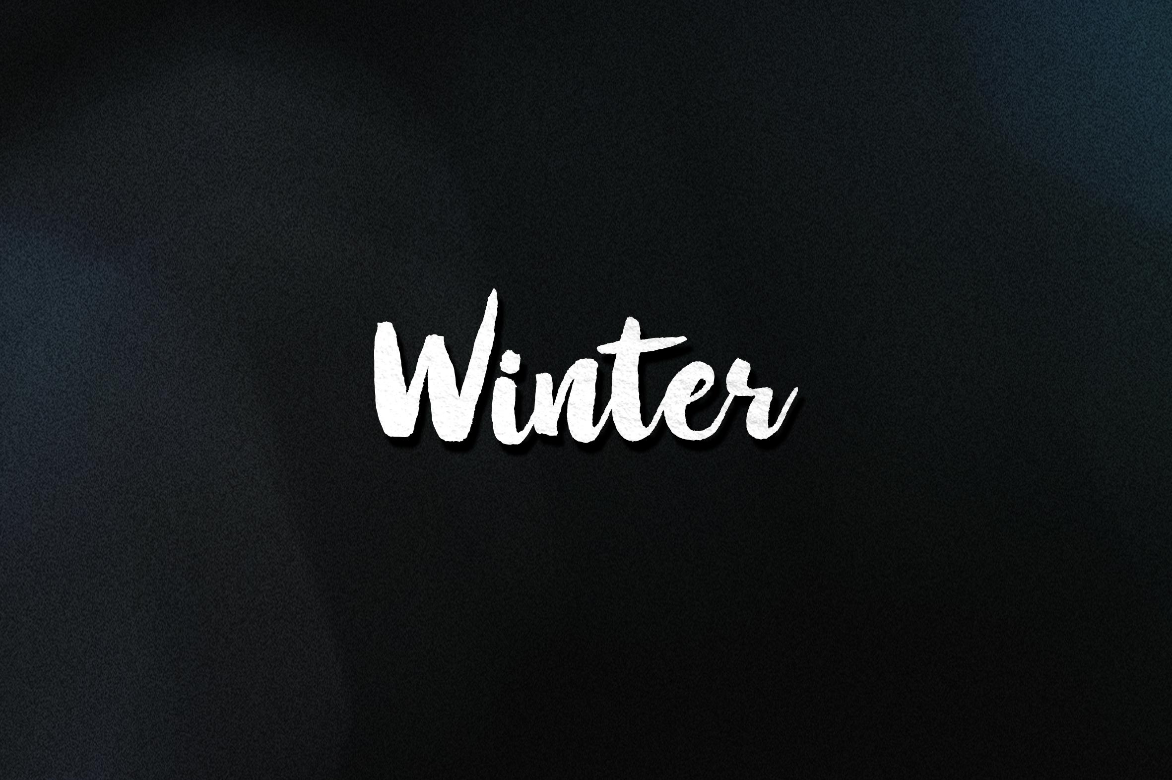 Winter Brush - New Update example image 12