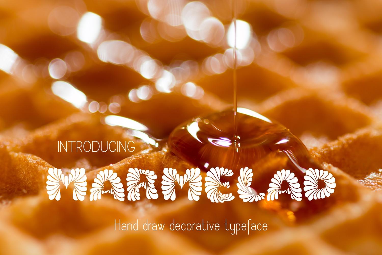 Marmelad Font example image 3