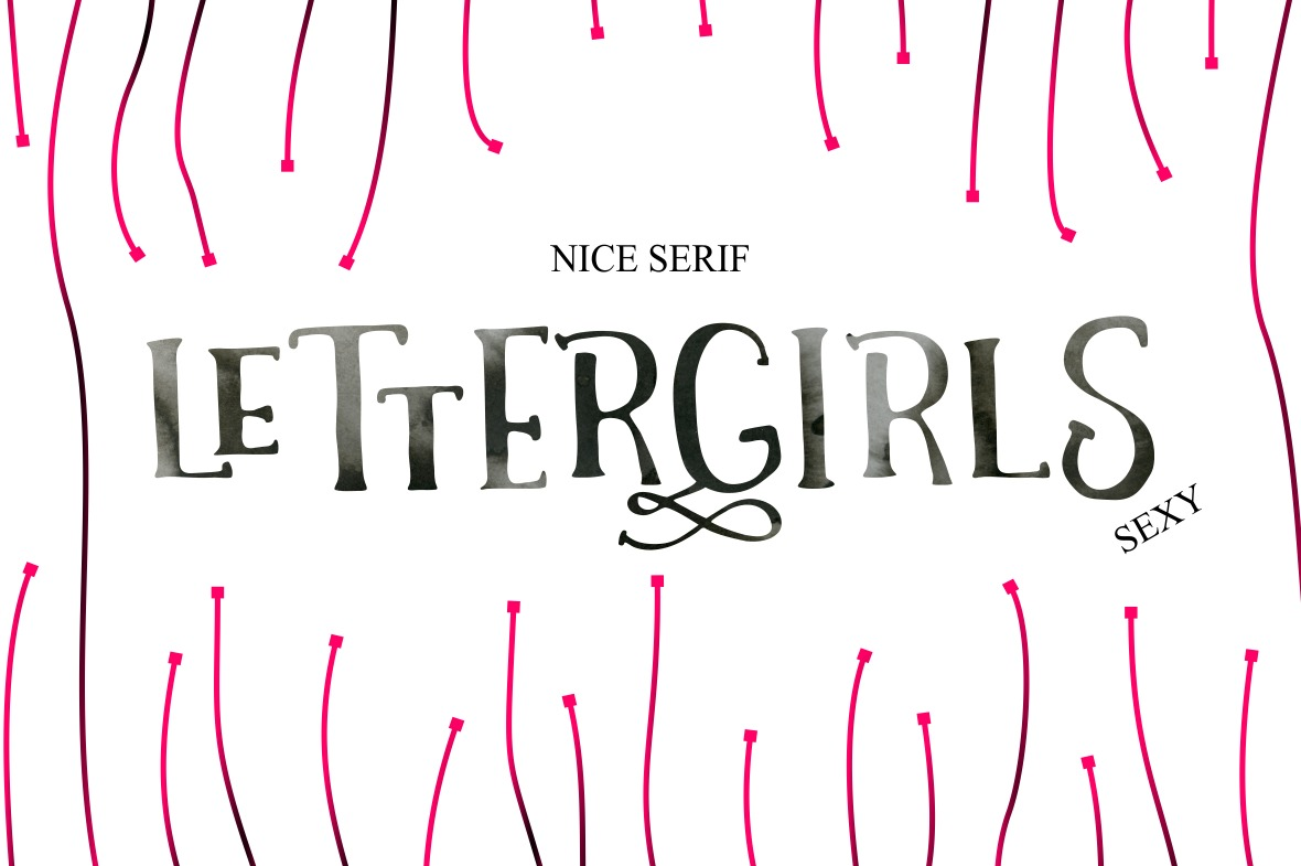 Letter Girls example image 2