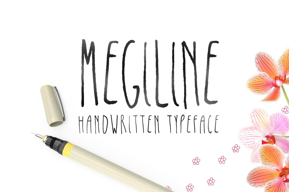 Megiline Typeface example image 2