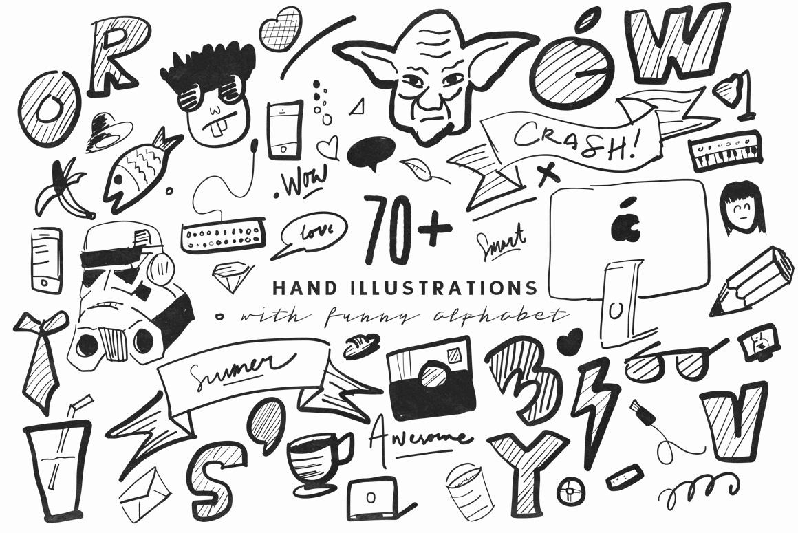 Tristan Brush Font + Bonus example image 9