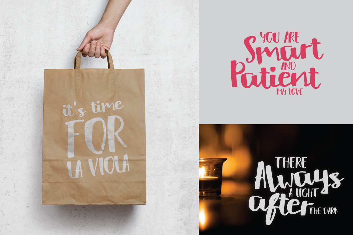 HelloListie Handmade Typeface example image 4