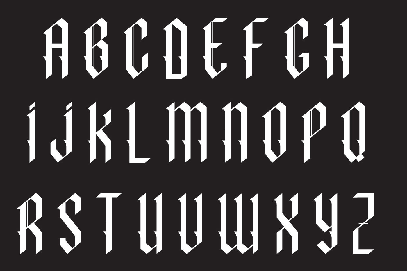Indigo handcrafted typeface example image 5