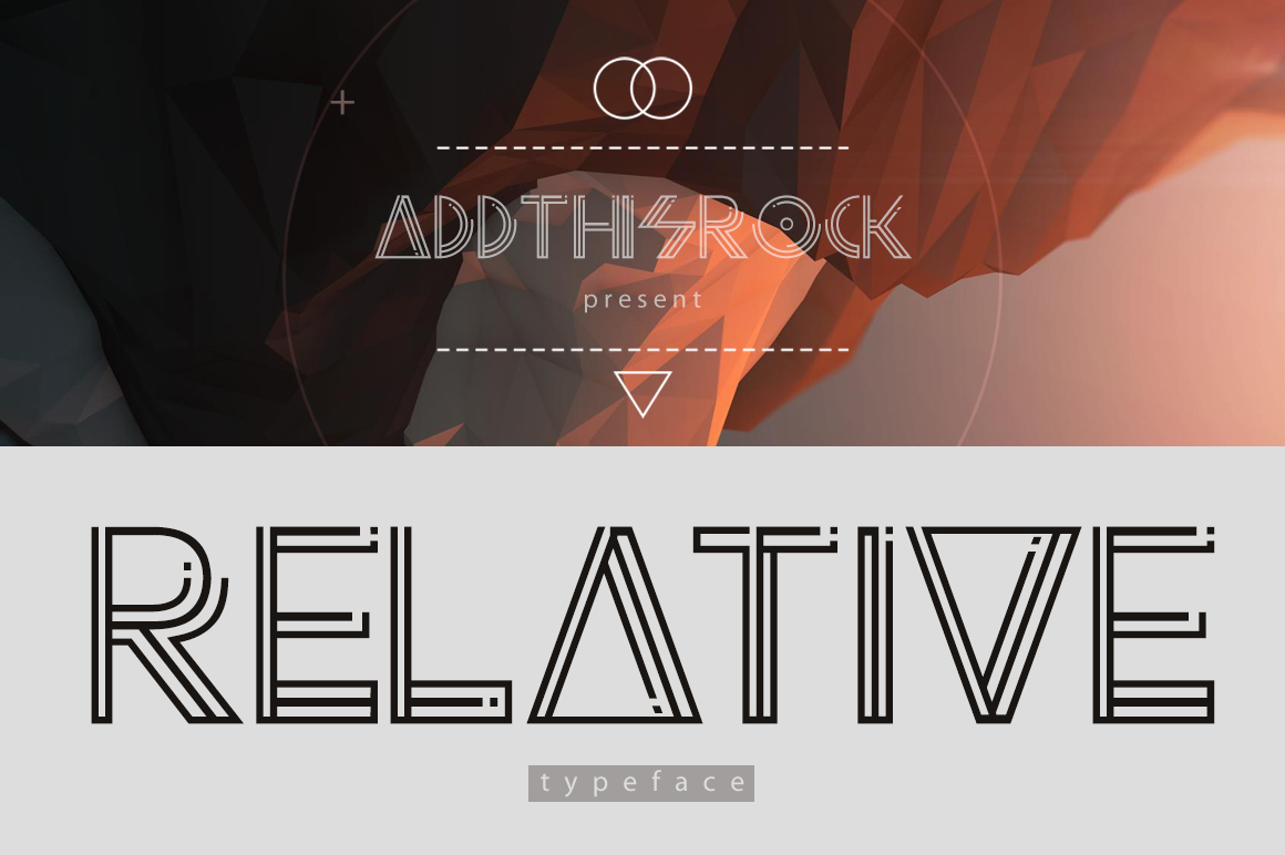 Relative Typeface example image 1
