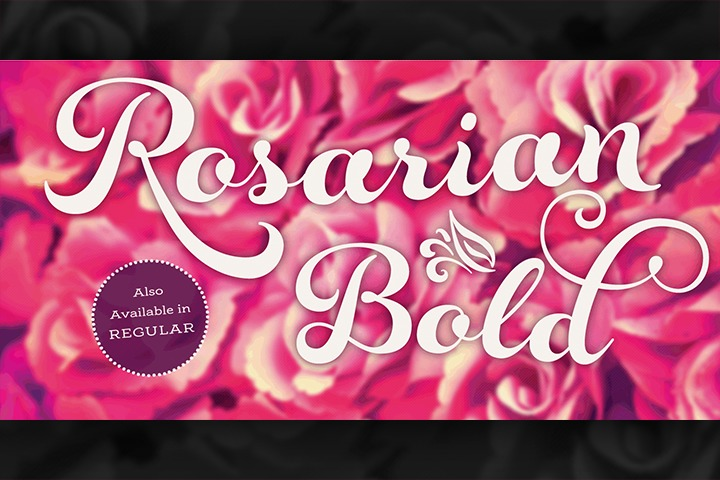 Rosarian Bold example image 1