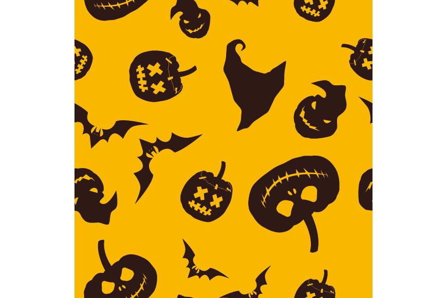 Set of 12 seamless vector backgrounds Happy Halloween.  example image 14