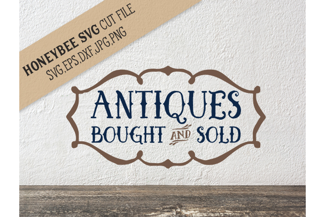 Antiques Bought and Sold svg example image 1