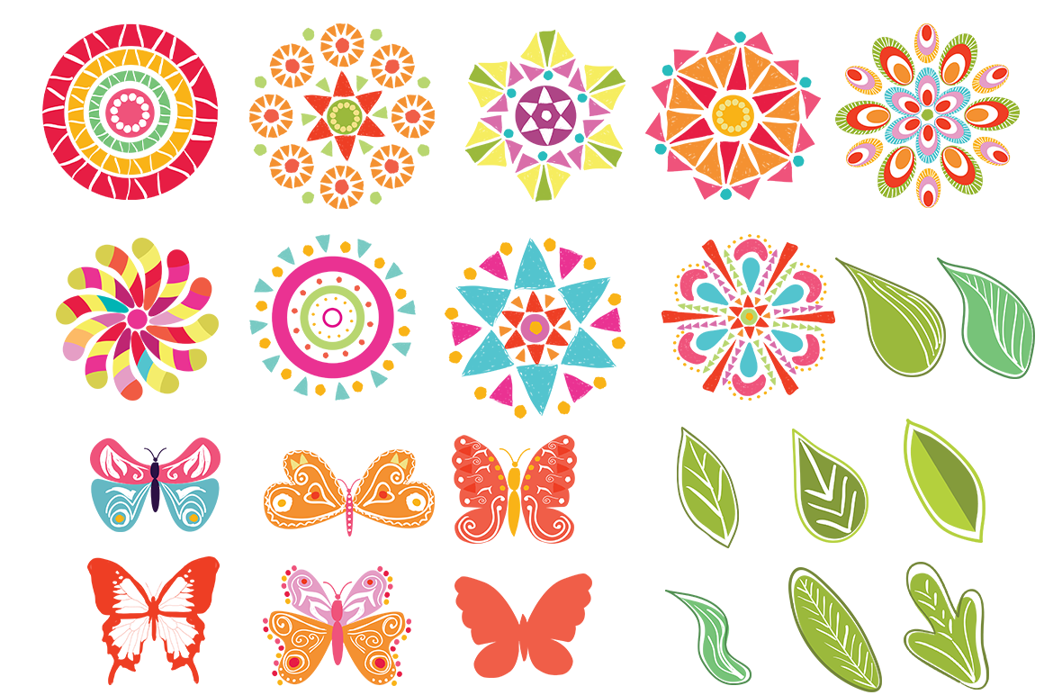 Playful Summer Colorful Bohemian example image 16