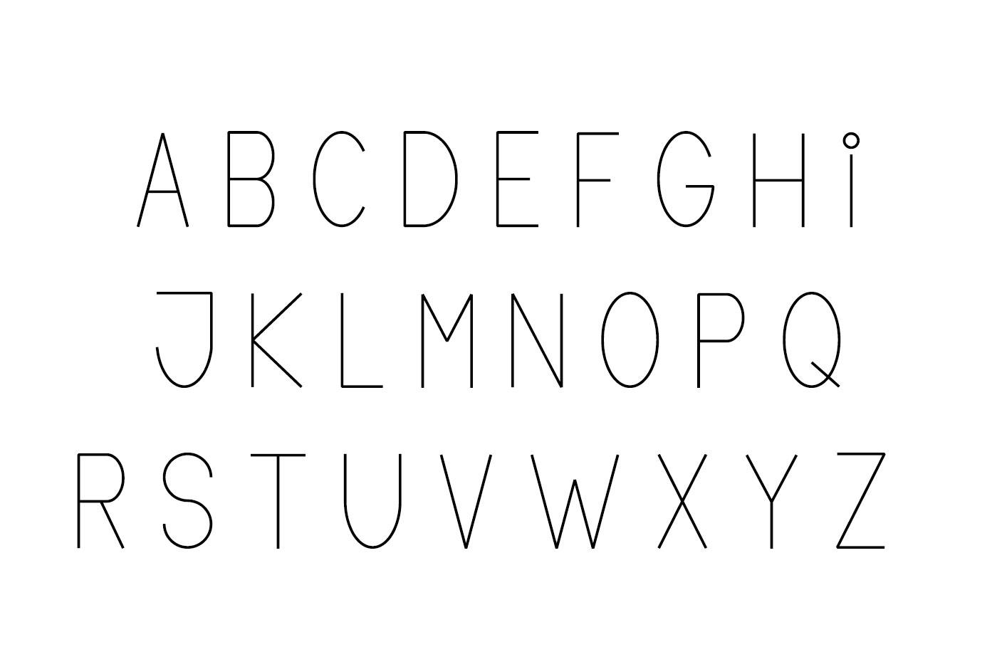 Lane sans serif typeface example image 3