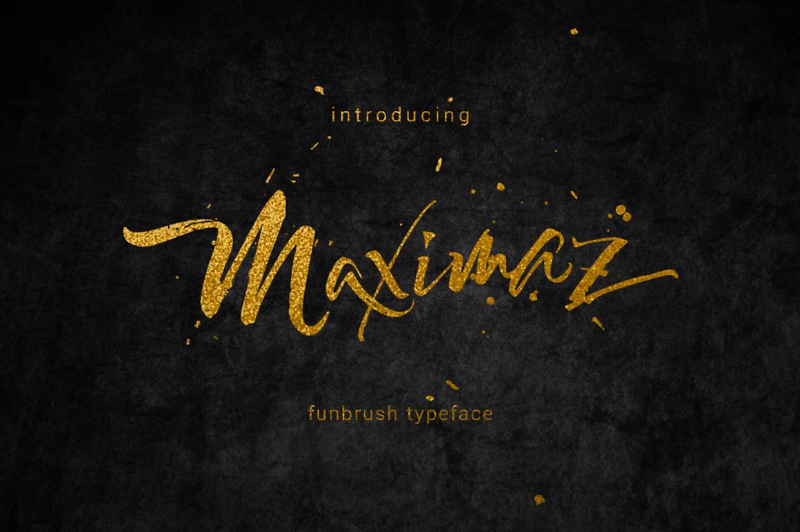 Maximaz Typeface example image 1