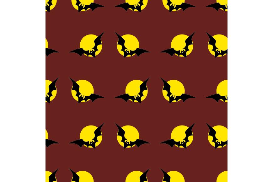 Set of 12 seamless vector backgrounds Happy Halloween.  example image 12