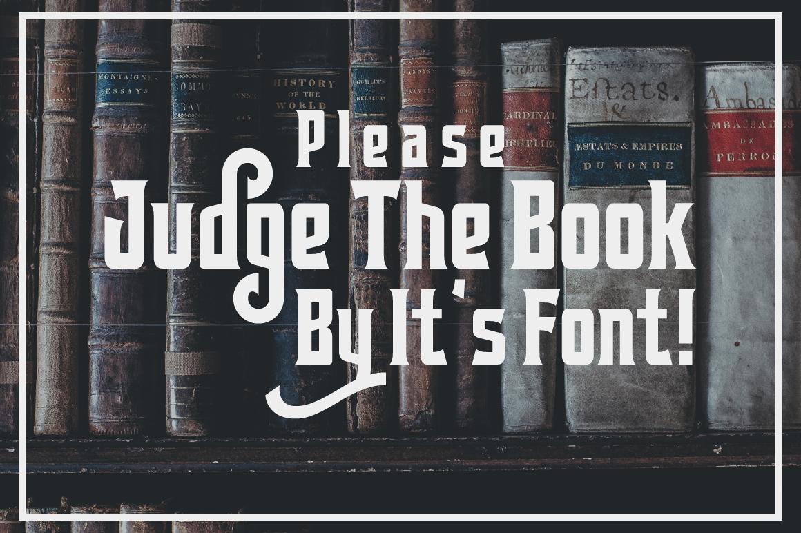 Cerudikan Typeface example image 5