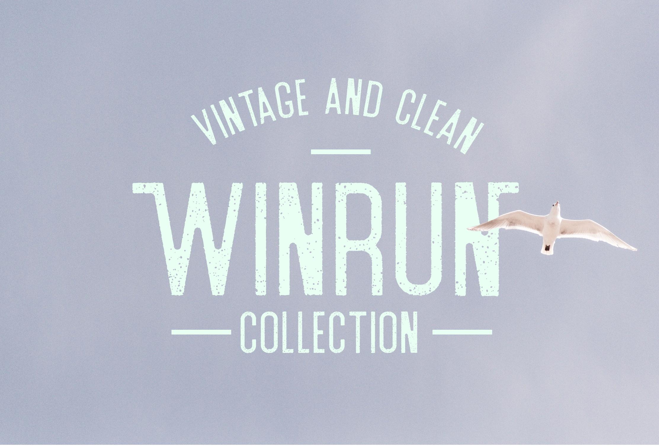 Winrun Typeface example image 5