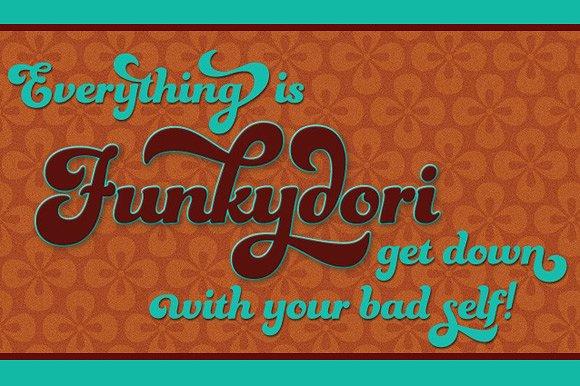 Funkydori Bold example image 21