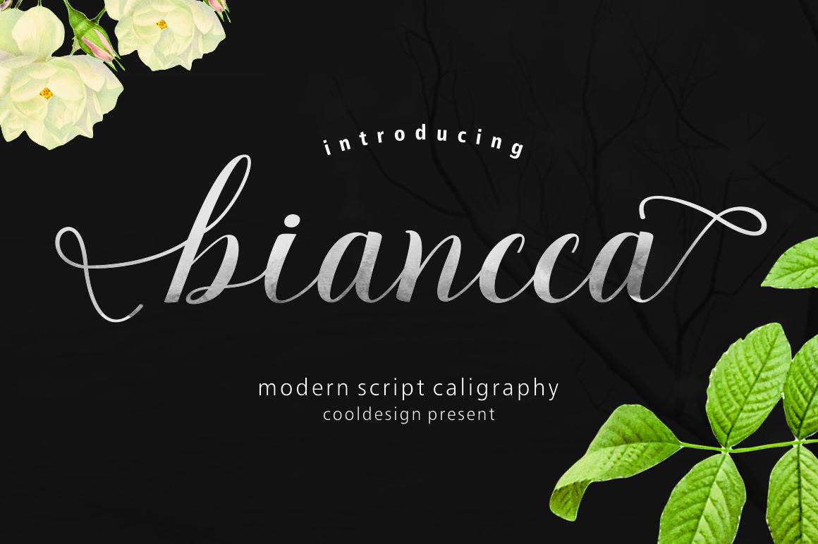 Bianccca script