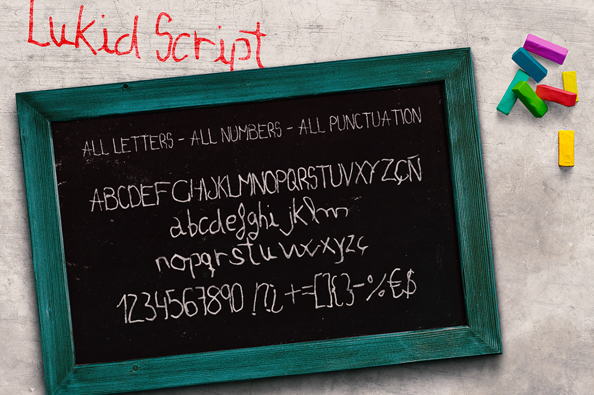 Lukid Typeface example image 3