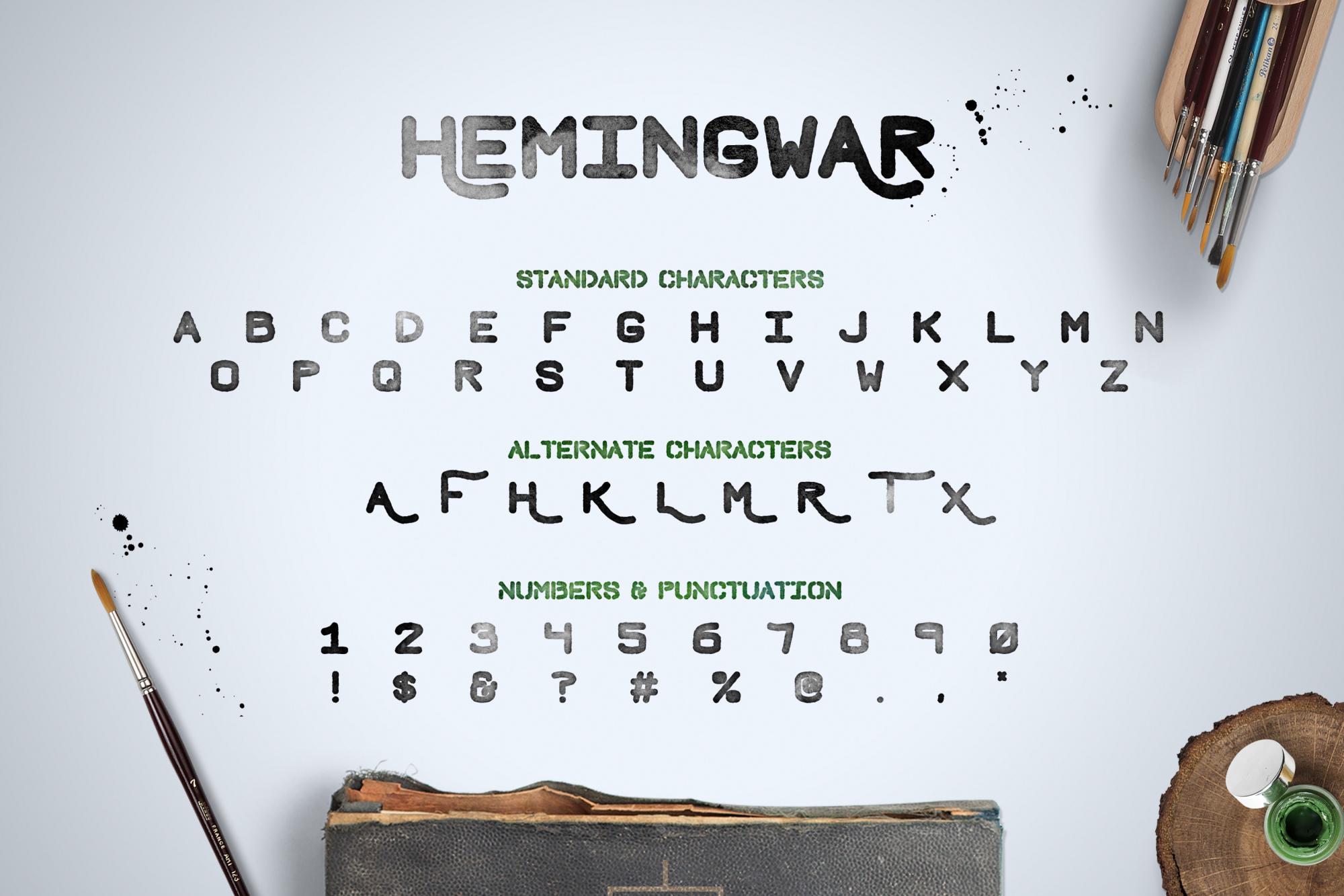Hemingwar Characters