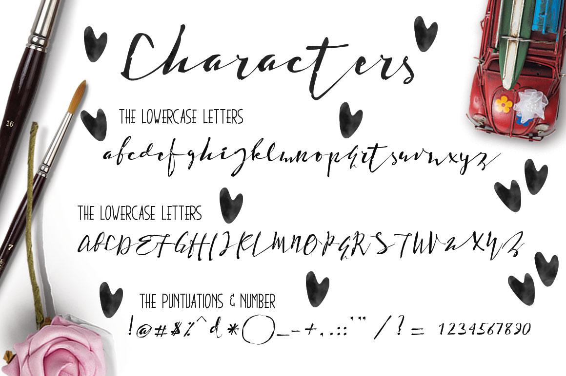 Holdenisty Typeface example image 5