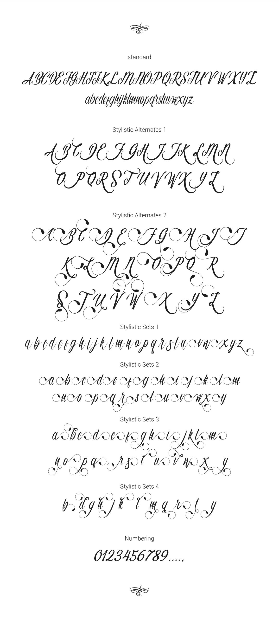 Autumn Flower Script example image 5