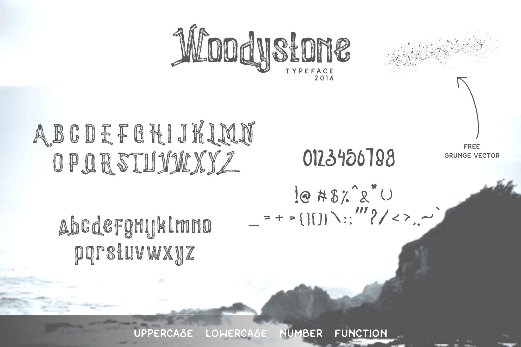 Woodystone Character
