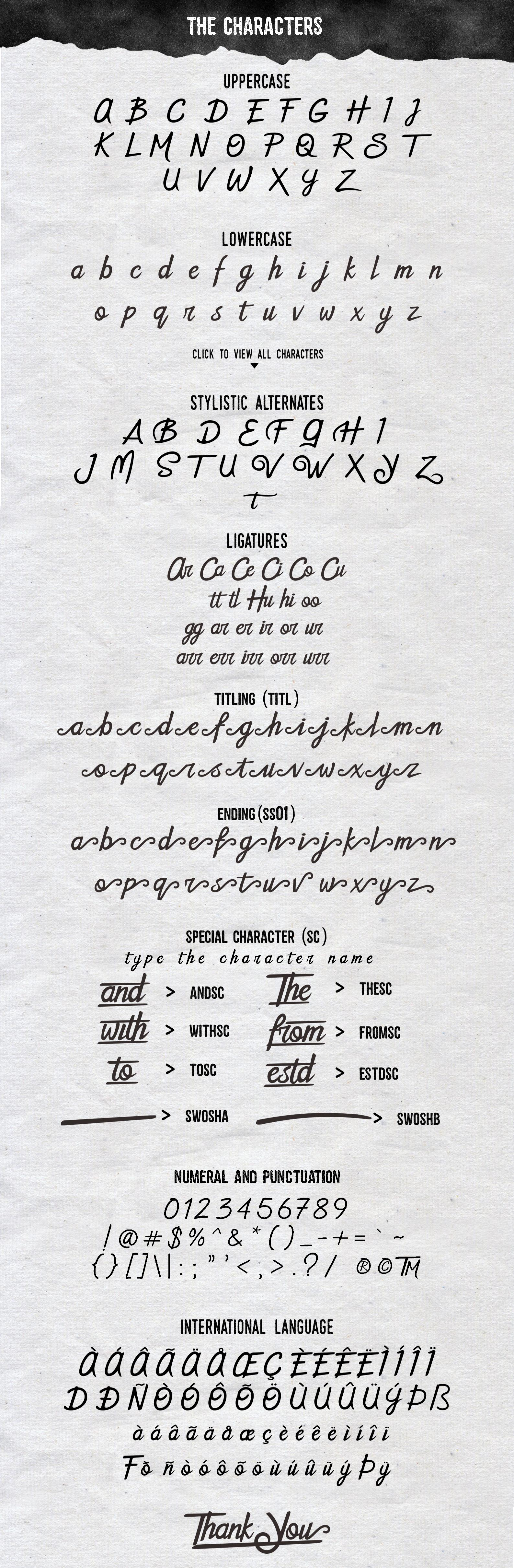 The Sweetland Typeface Font Duo example image 2