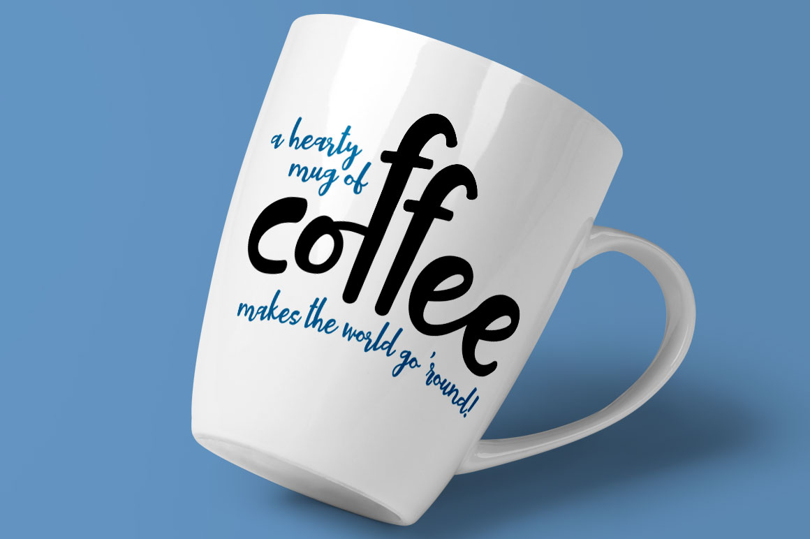 Tallsy Smalls: coffee cup mug idea mockup