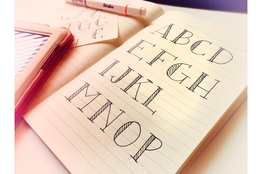 Blaze & Radley Font example image 1