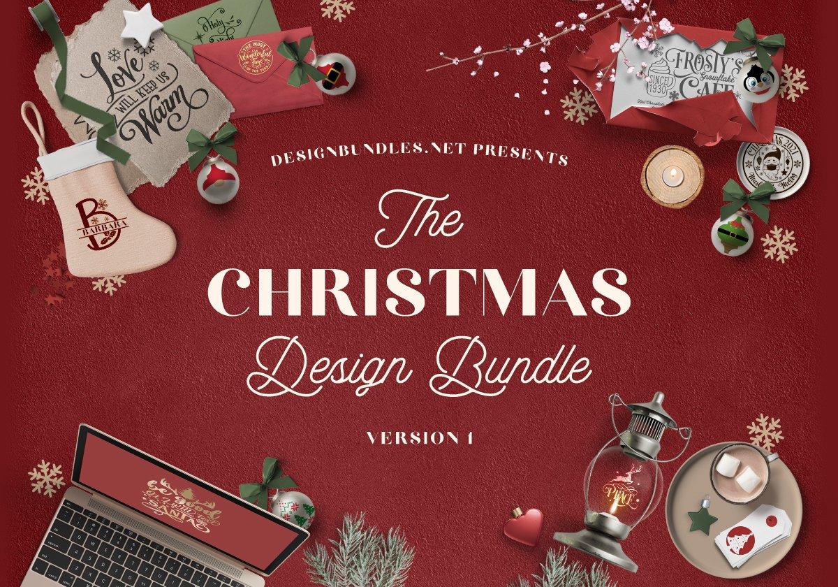 The Christmas Design Bundle 1 Cover