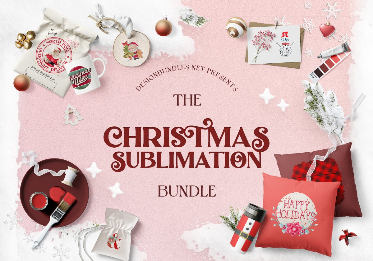 The Christmas Sublimation Bundle Cover