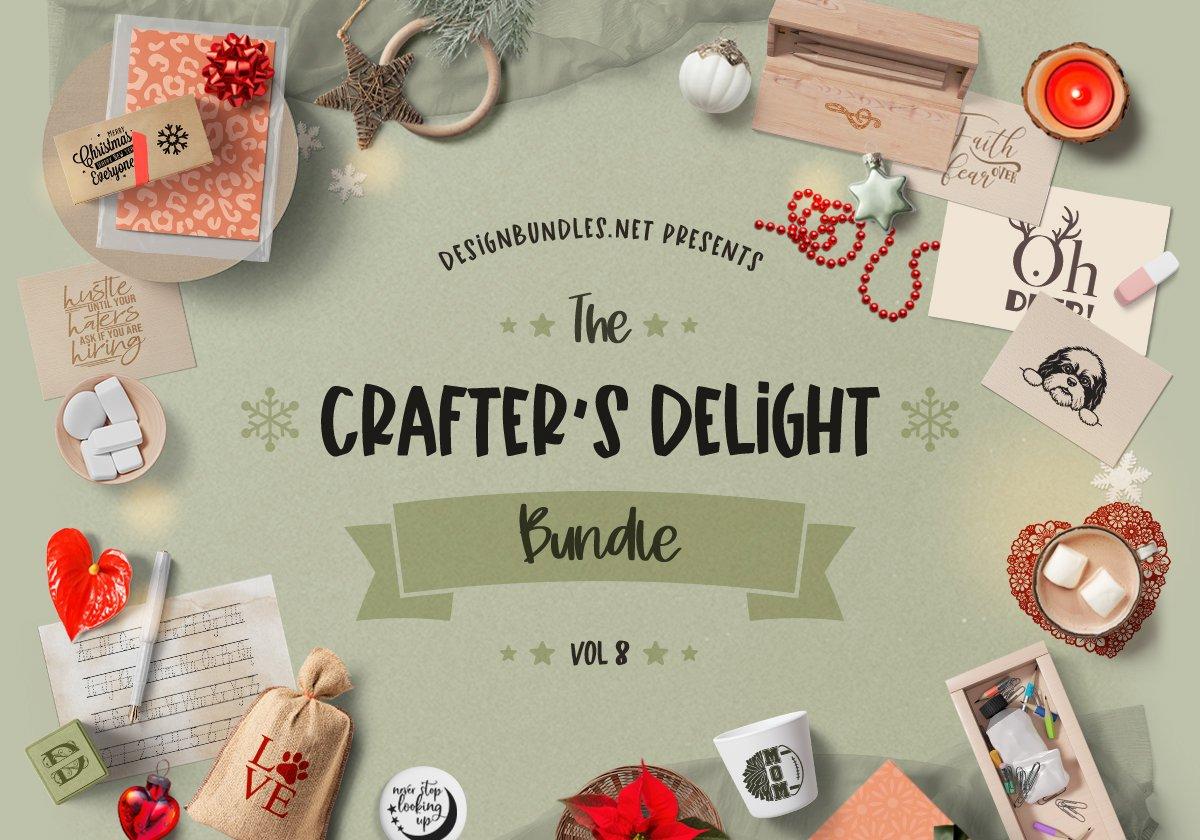 Download The Crafters Delight Bundle Volume 8 Designbundles