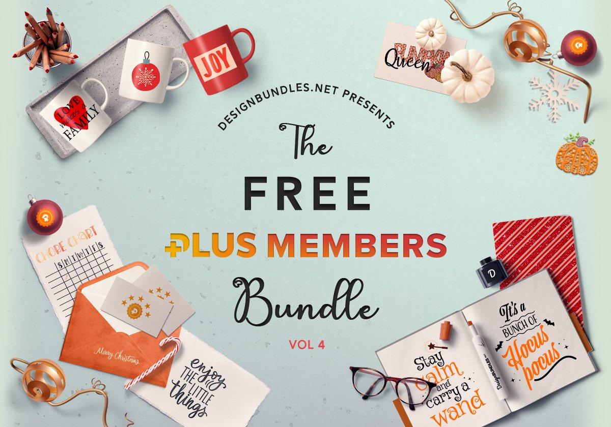 The Free Plus Members Bundle 4 Cover