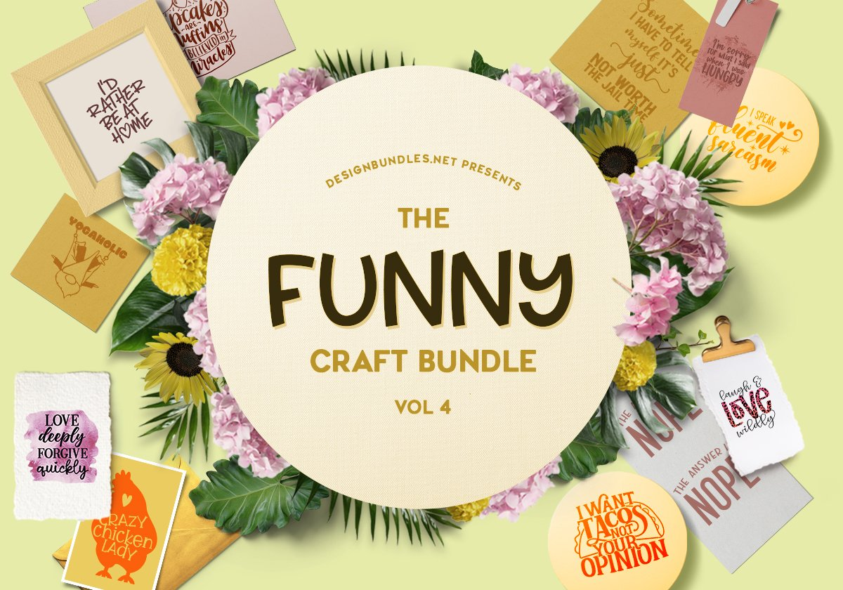 The Funny Craft Bundle 4 Cover