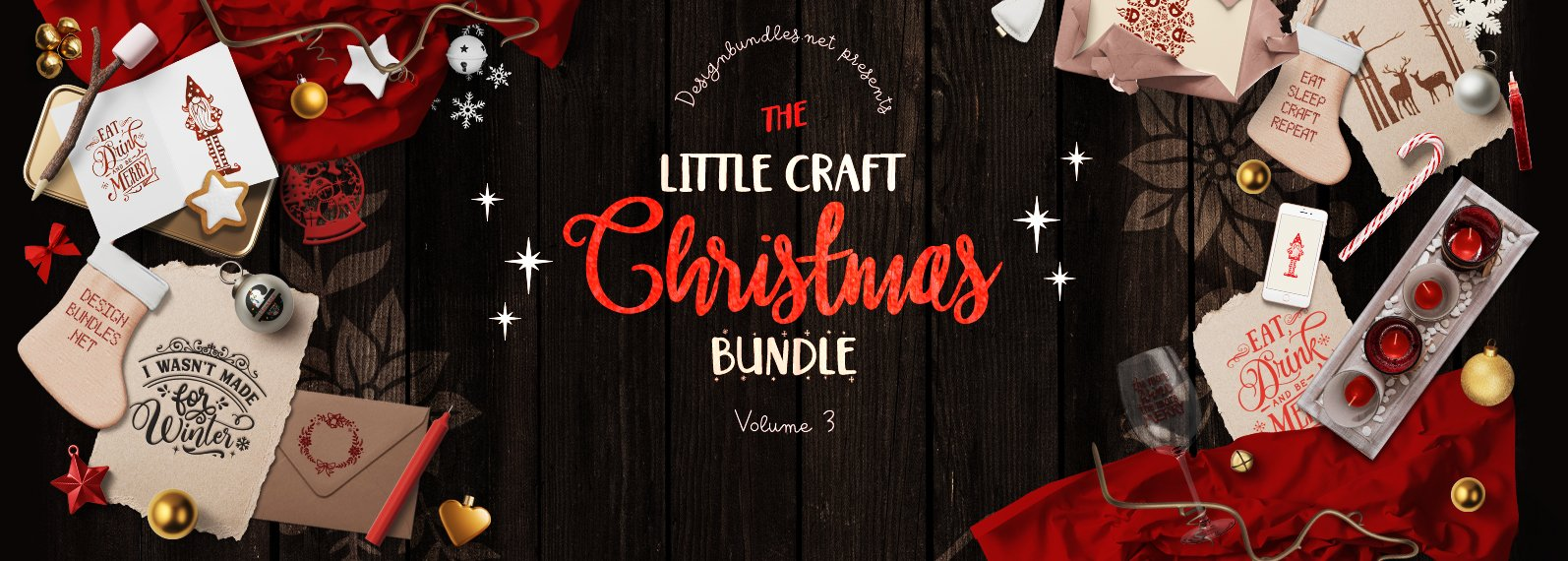 The Little Craft Christmas Bundle 3 Cover