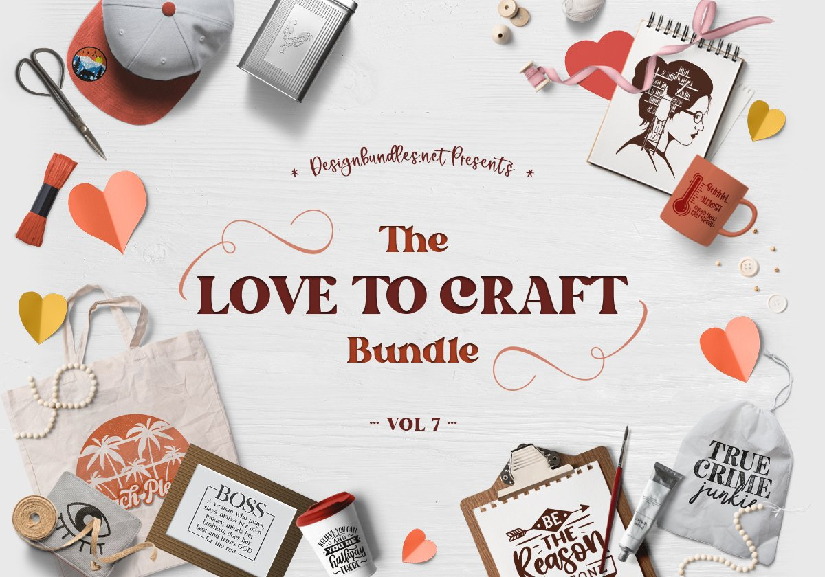 The Love To Craft Bundle Volume 7 Cover