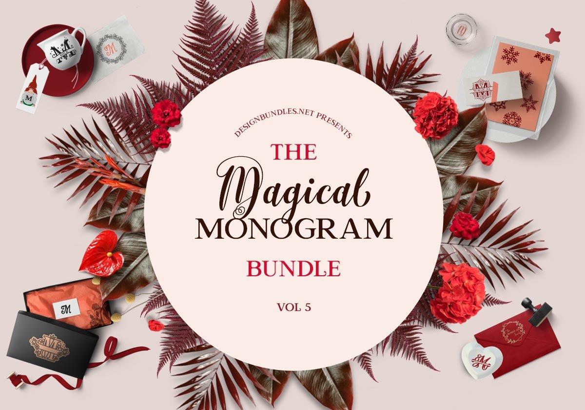 The Magical Monogram Bundle 5 Cover