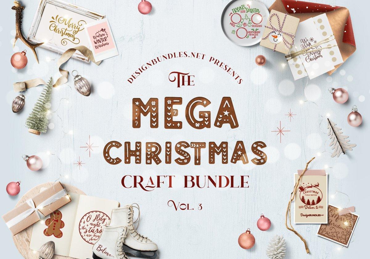 The Mega Christmas Craft Bundle 3 Cover