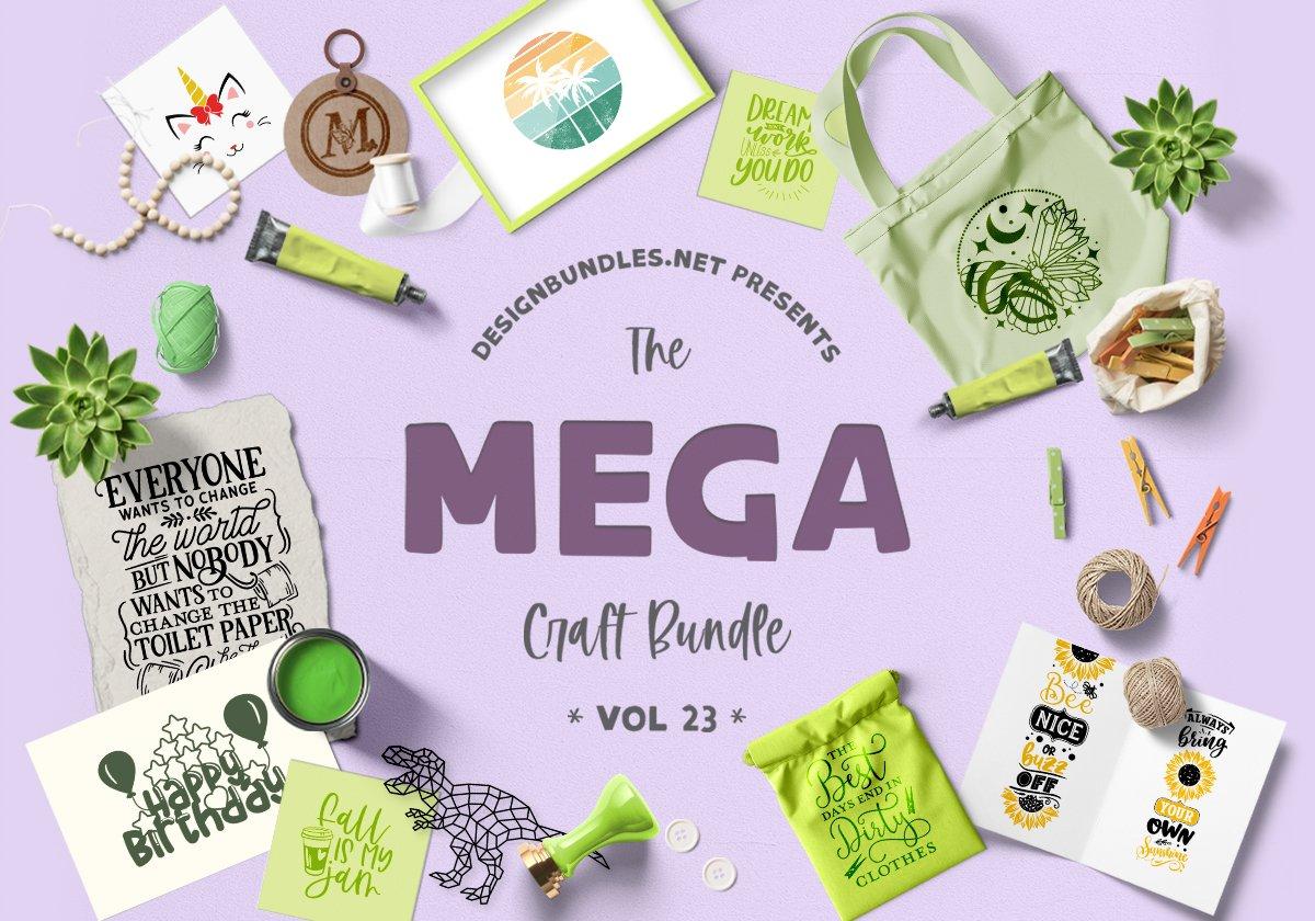 The Mega Craft Bundle Volume 23 Cover