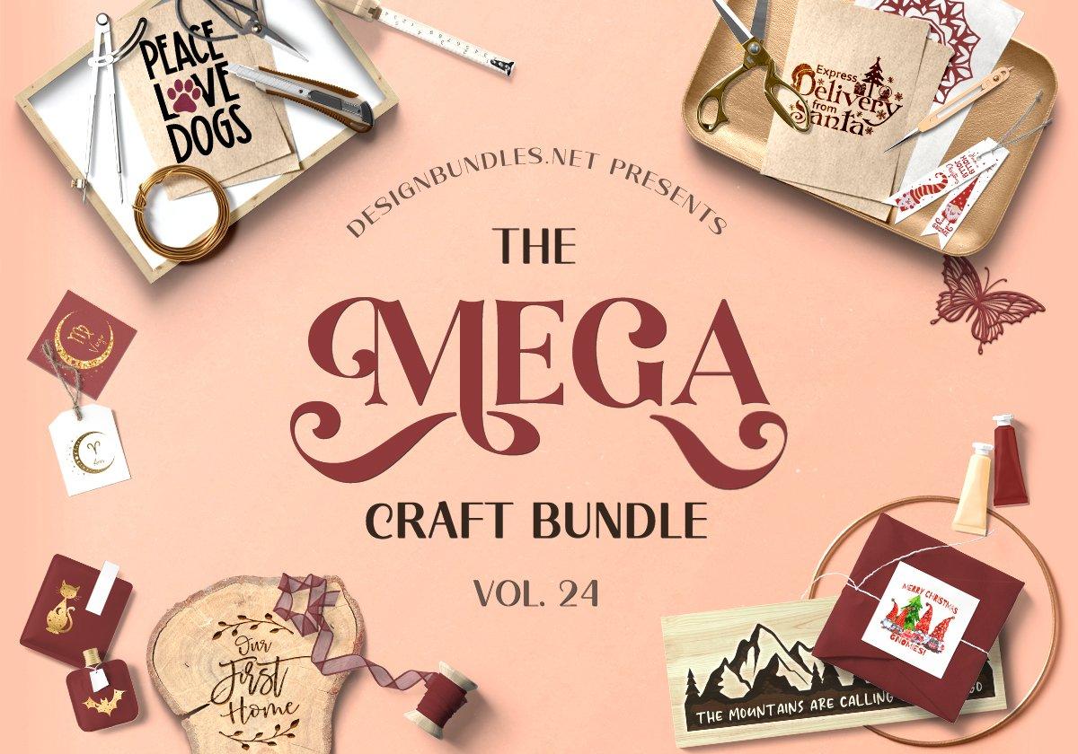 The Mega Craft Bundle Cover