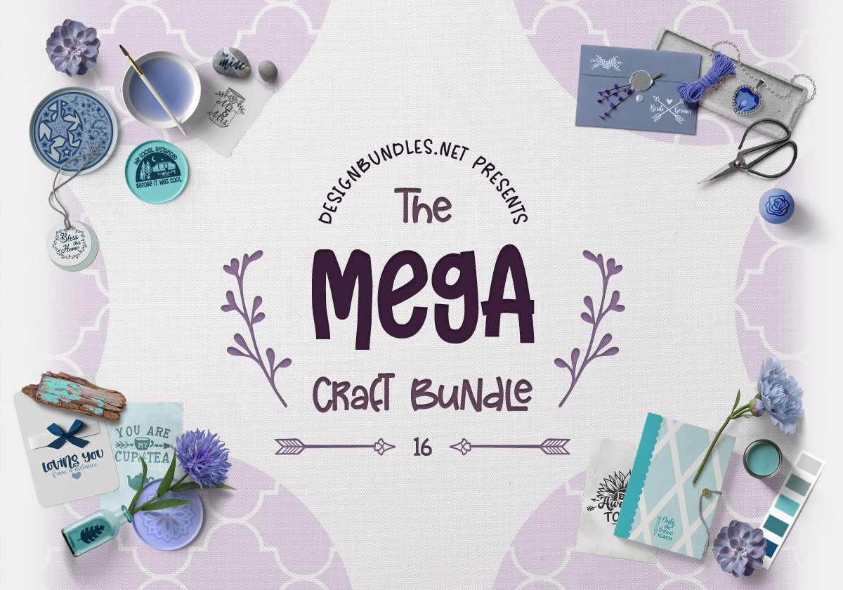 The Mega Craft Bundle 16 Cover